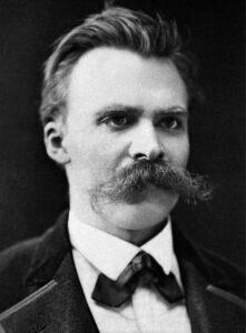Nietzsche, the man.