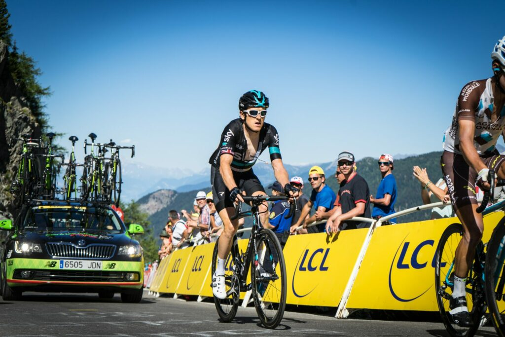 Cyclist in the Tour de France, a centerpiece of a cheating scandal